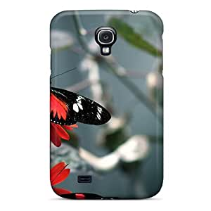GG Fan Fashion Protective Butterfly Case Cover For Galaxy S4