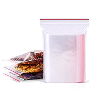 200PCS Clear Self-Sealing PE Bags Wrap with Adhesive Closure Poly Treat Bags Food Storage Packing Pouch for Snacks Bakery Cookies Candies Decorative Wrappers (4cm x 6cm/1.57inch x 2.36inch)