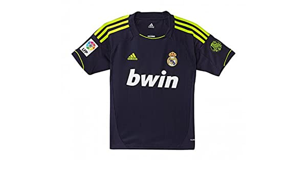 super popular f3fa1 3cd22 2012-13 Real Madrid Adidas Away Shirt (Kids), Football ...