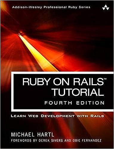 Ruby on rails tutorial tutorialspoint.