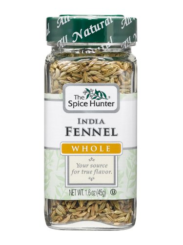 Spice Hunter Spices, India Fennel, 1.6 Ounce (Pack of 6)