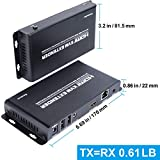 HDMI USB KVM Extender, Cat6 HDMI Transmitter and