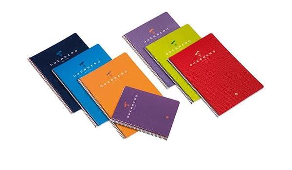 Guerrero 01 - Pack de 10 cuadernos de 80 hojas, milimetrado ...
