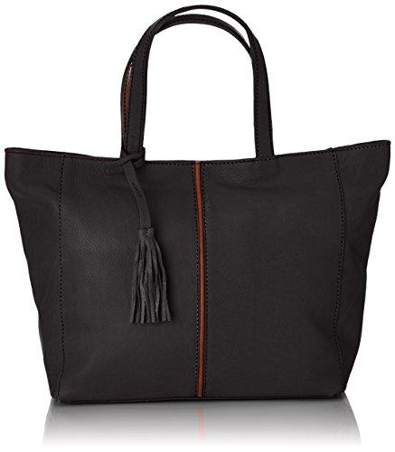Loxwood Cabas Parisien Mm Damen Shopper Schwarz - Schwarz (Black) a9xzJenE6