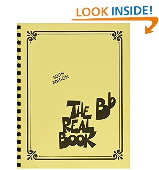 The real book jazz amazon the real book b flat sixth edition fandeluxe Images