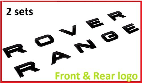 range rover evoque letters - 2