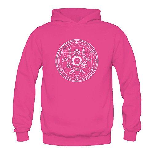 Niceda Women's FullMetal Alchemist Long Sleeve Sweatshirts Hoodie