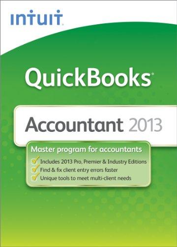 QuickBooks Accountant 2013 [Download] [OLD VERSION] (Quickbooks Premier 2013 Software)