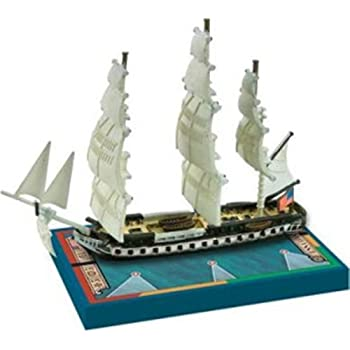 Sails of Glory Ship Pack - USS Constitution 1797, 1812 Board Game
