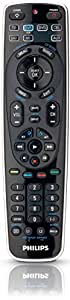 Philips SRP5107/27 Universal Remote Control featuring Simple Setup (Black) (Discontinued by Manufacturer)