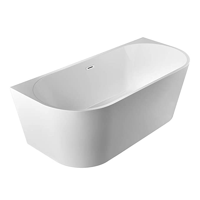 7. Bath Master Freestanding Acrylic Bathroom Soaking Tub