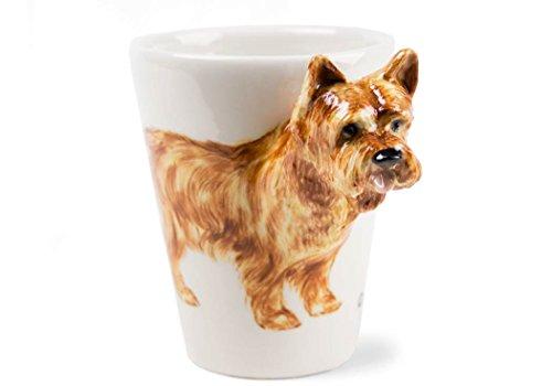 Cairn Terrier 8oz Wheaten Handmade Coffee Mug (10cm x 8cm)