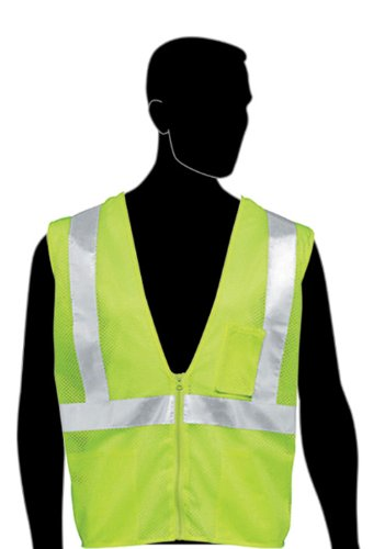 Liberty HiVizGard Polyester All Mesh Fabric Class 2 Safety Vest with 2