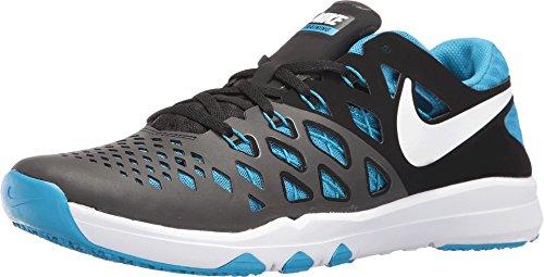 Nike Men's Train Speed 4 Training Shoe Black/Blue Glow/White Size 11.5 M US