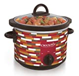 #9: Crock-Pot Slow Cooker, 2.5-Quart Urban Retro Pattern