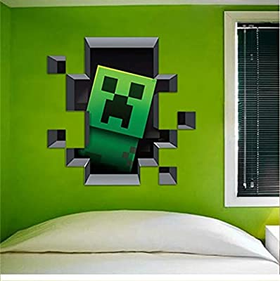Latest Game Minecraft Enderman Wall Stickers Home Decor