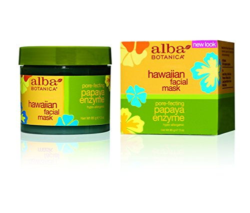 Alba Botanica, Facial Mask, Papaya Enzyme 3 oz ()