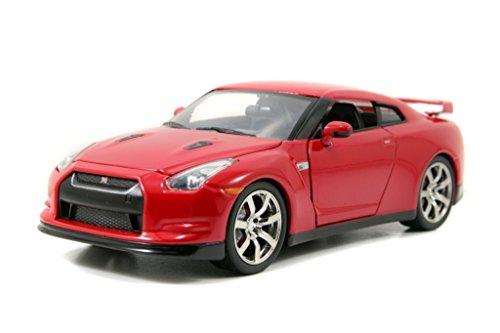 Jada 2009 Nissan GT-R (R35) Bigtime Kustoms 1:24 Scale (Red)