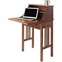 Manchester Wood Mission Secretary Desk - Chestnut