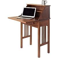 Manchester Wood Mission Secretary Desk - Chestnut