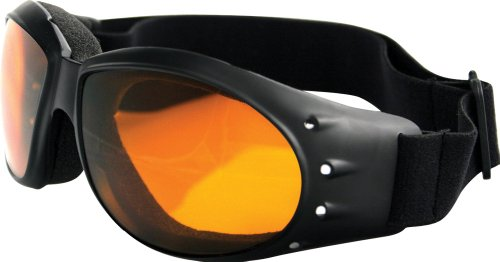 Bobster BCA001A; Sunglasses Cruiser Black W/Amb Made by Bobster