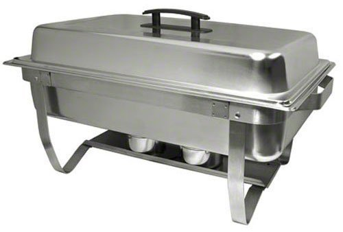 Update International ESFC-21 8-Quart. Easy Store Folding Chafer, Silver