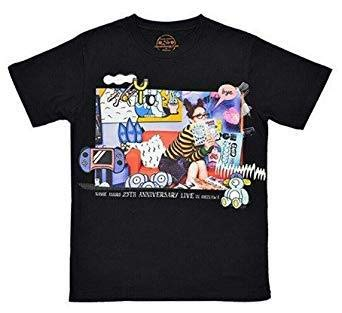 安室奈美恵 namie amuro 25th ANNIVERSARY LIVE in OKINAWA 25周年 沖縄ライブ グッズ COMIC geek.Tシャツ ブラック 黒 M