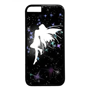 3D Angel Live Persalized Cover Case for Apple iPhone 6 plus Black