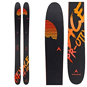 Dynastar – Skis Menace Proto F-Team (Skis sans Fixation) – Homme – Noir