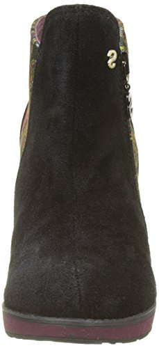 Desigual Women's Shoes_Electra Essentials Chelsea Boots Black (Negro) Xs2Jy