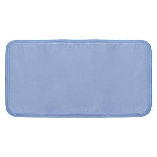 "Price comparison product image LiveFine Cooling Pillow pad, Relief For Night Sweats, Migraines, Hot Flashes, Fevers, Neck Pain Large Size 12"" x 22"", Foldable Solid Gel Cool Mat"