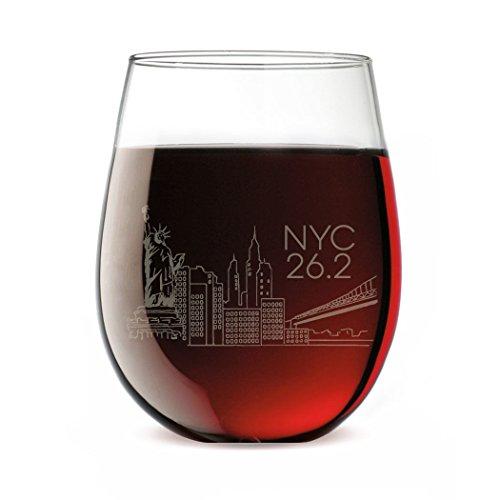 Running Stemless Wine Glass - New York City ()