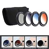 Z-Prime 16mm Multicoated Graduated Color Filter Kit for Ztylus Z-Prime Wide Angle & Telephoto Lens. (CPL Circular Polarizer Filter + Orange Sunset Filter + Blue Sky + Filter ND Neutral Density Filter)