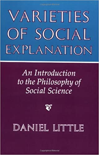 Varieties of Social Explanation