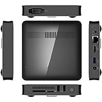 T7 Mini PC Windows 10 OS Atom Z8350 2GB DDR3 RAM +32GB eMMC Flash HDMI VGA Double Output,Support Wi-Fi,