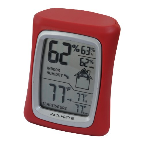 AcuRite 00327 Home Comfort Monitor, Red by AcuRite