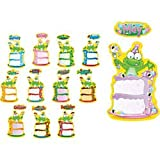 Carson Dellosa Frog Birthday Bulletin Board Set (110112)
