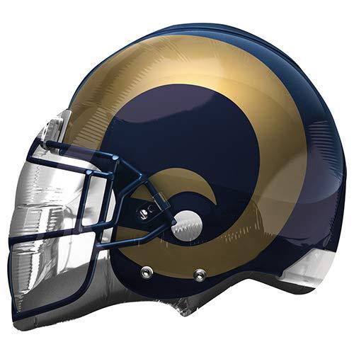 Anagram 26310 NFL Los Angeles Rams Football Helmet Foil Balloon, 21