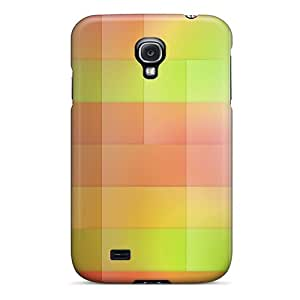New Arrival Premium S4 Case Cover For Galaxy (color Stripes)
