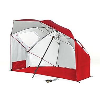 Sport-Brella Plus Fire Brick Sun Shelter, Red