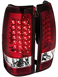 Spec-D Tuning LT-SIV03RLED-TM Red LED Tail Light