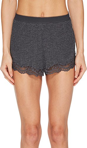 Stella McCartney Women's Lily Blushing Short Brief Grey Marl Large by Stella McCartney