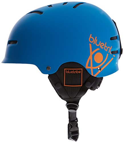 Bluetribe Ski Casque Mixte, Noir Flex Blue