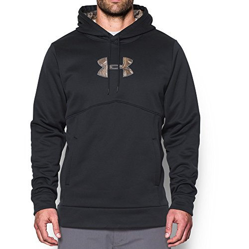 Under Armour Men's Storm Icon Caliber Hoodie, Black (002), Large
