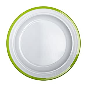 OXO Tot Big Kids Plate with Non-Slip Base- Green