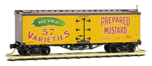 Micro-Trains MTL N-Scale Heinz Yellow Car #1-36ft Wood for sale  Delivered anywhere in USA