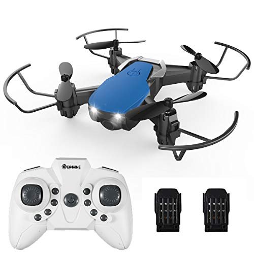 Mini Drones for Kids and Adults, EACHINE E61H Macro Drone RC Nano Quadcopter with Auto Hover for Beginners, Extra Batteries, One Key Take Off/Landing, 3D Flip,Toys for Boys and Girls