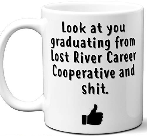 Lost River Career Cooperative Graduation Gift. Cocoa, Coffee Mug Cup. Student High School Grad Idea Teen Graduates Boys Girls Him Her Class. Funny Congratulations. 11 oz.
