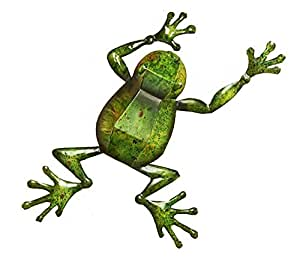 Giftcraft Frog Wall Plaque, Iron
