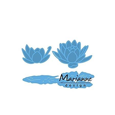 Blue Marianne Design Creatables Hedera Die Metal 18.5 x 8.4 x 0.2 cm